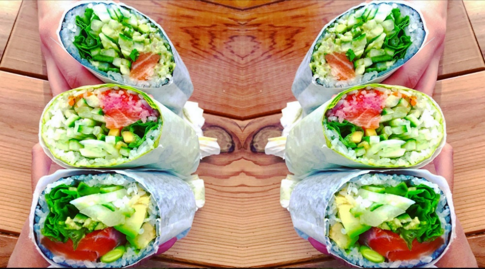 You can now get a sushi burrito in Montreal