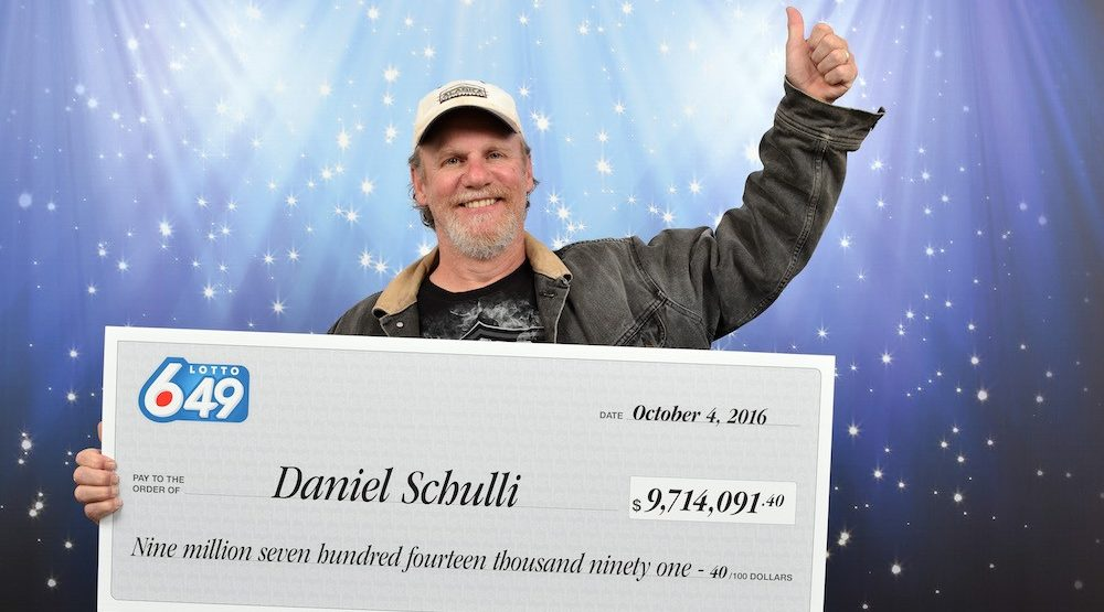 Abbotsford man wins $9.7 million in Lotto 6/49