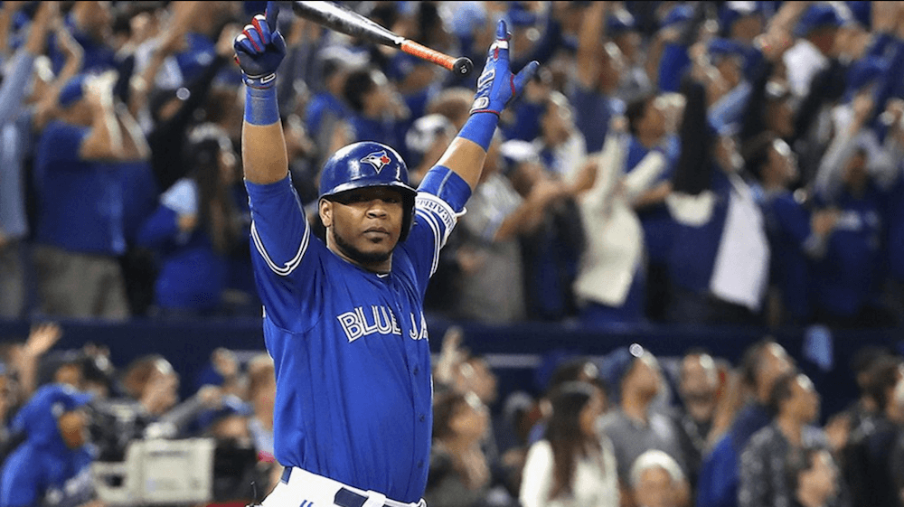 Encarnacion walk-off home run wins wild card playoff for Blue Jays