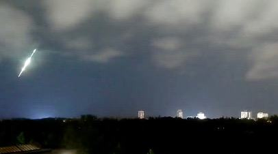 A meteor appeared over Toronto last night (VIDEO)