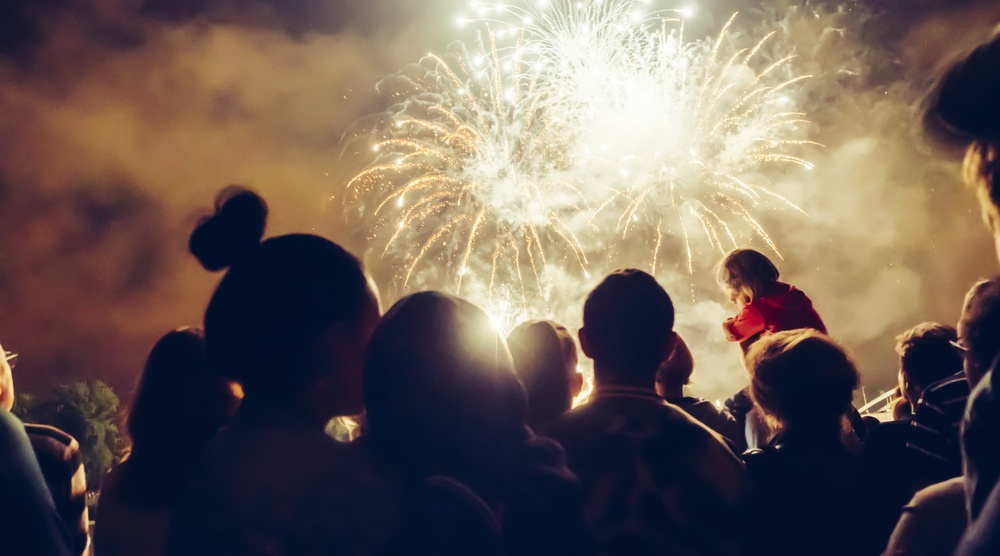 Halloween Fireworks Festival at Richmond's Minoru Park on October 31