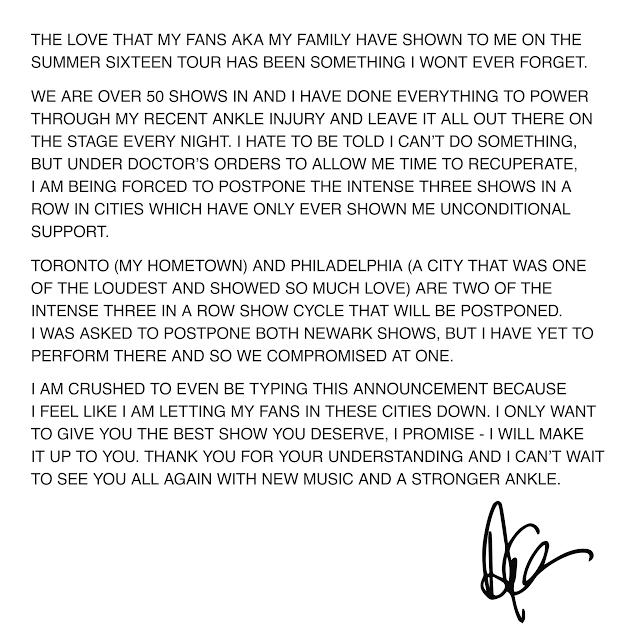 Drake statement