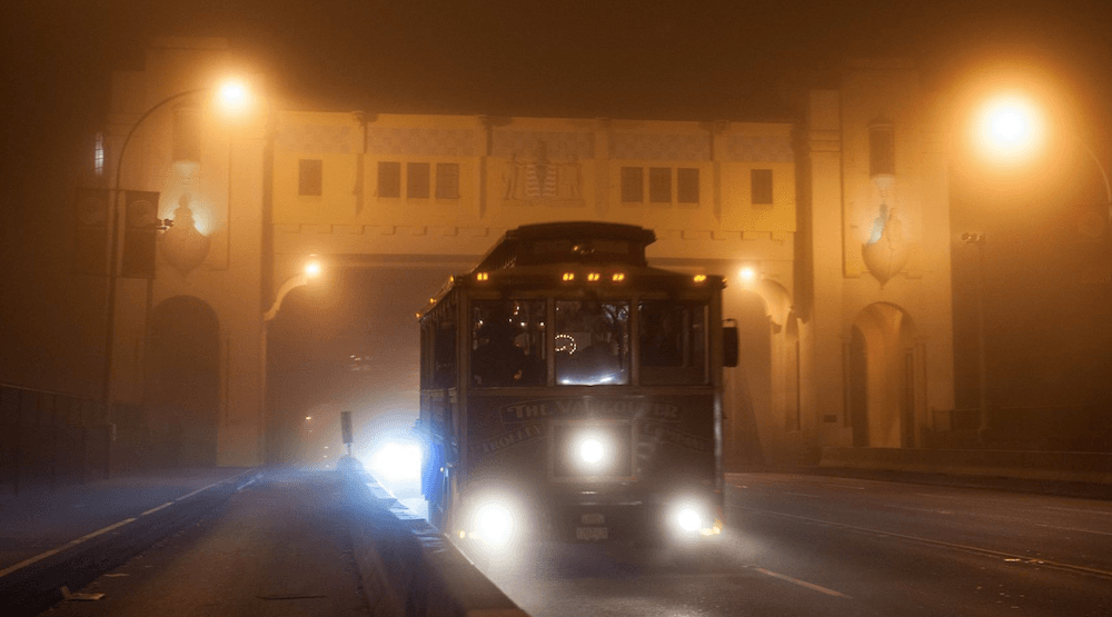 Vancouver Haunted Trolley Tour Halloween 2017