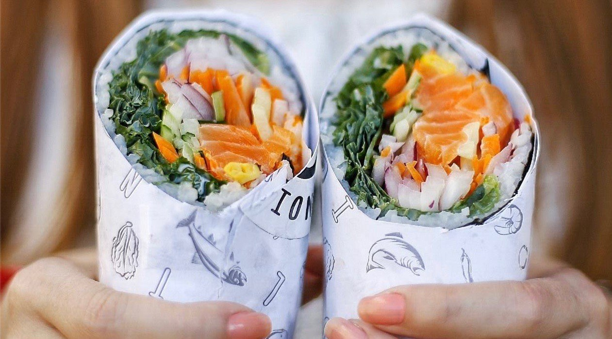 Free Sushi burrito giveaway in Toronto this Monday