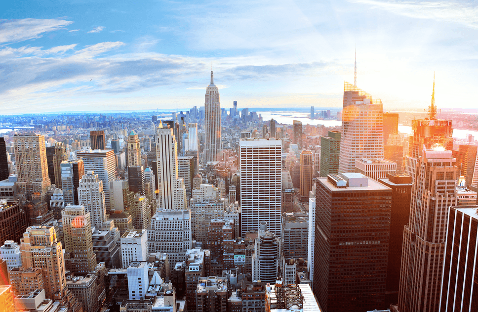 Roundtrip flights from Calgary to New York City for $375 right now