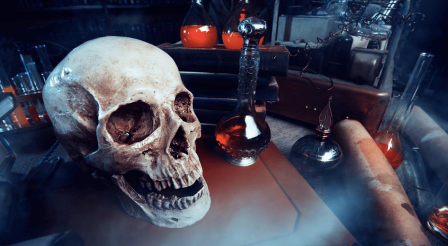 Halloween laboratory/ Shutterstock