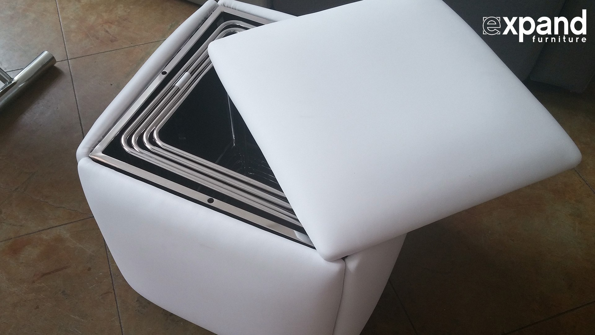 Cube 5 in 1 Ottoman Seat Space Saver (Expand Furniture)