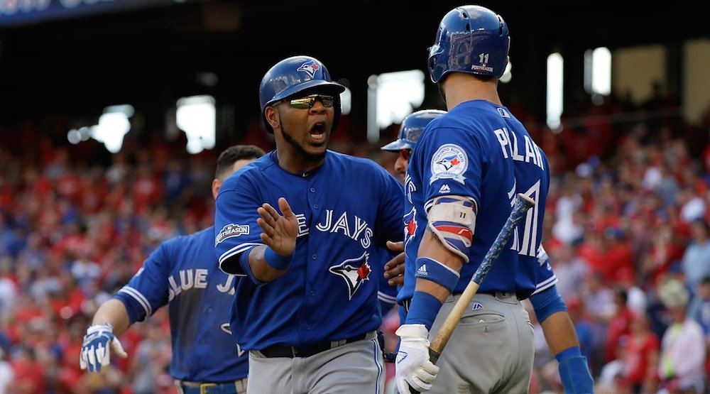 Blue Jays blow out Rangers 10-1, take 1-0 series lead