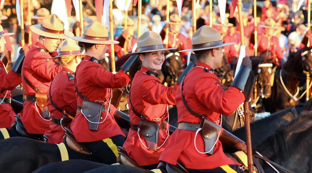 Rcmp musical ride police officers uniform