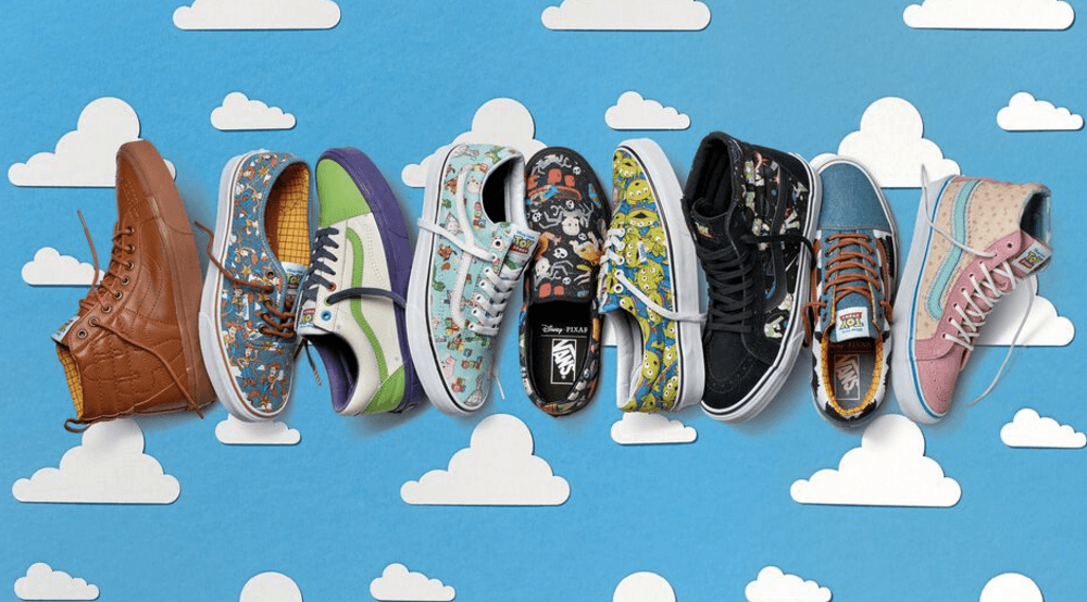 Vans and Disney Pixar team up for epic Toy Story collection