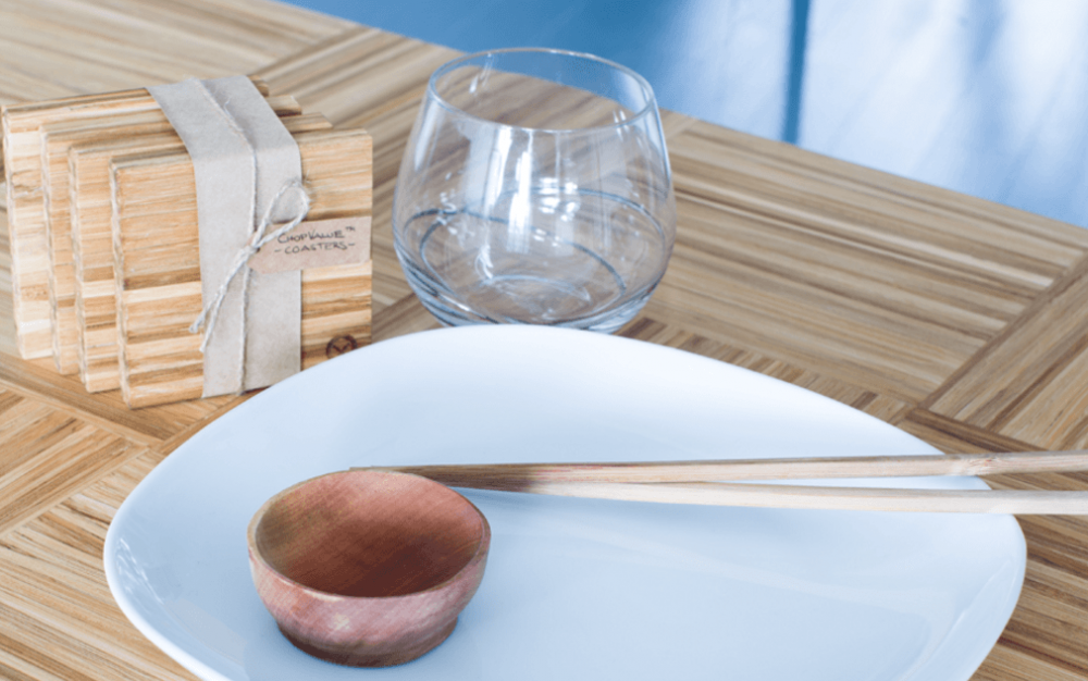 Sustainable, sushi-driven design: UBC student turns chopsticks into home decor