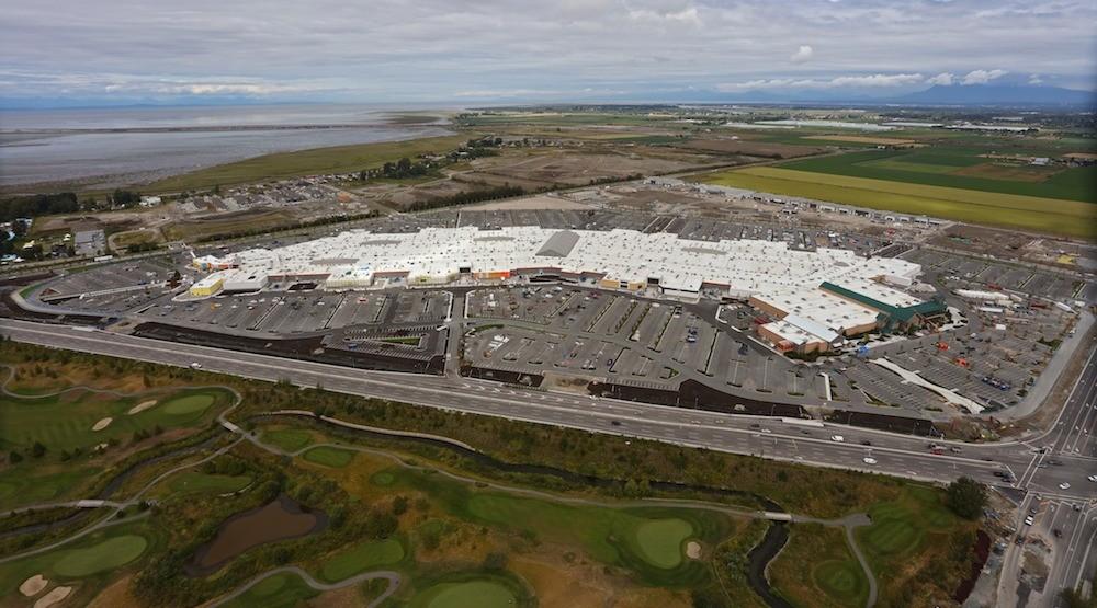 Tsawwassen mills aerial 2016