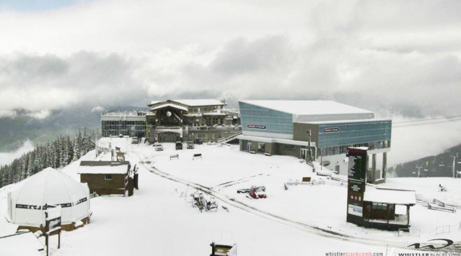 Whistler got an overnight dumping of snow (PHOTOS)