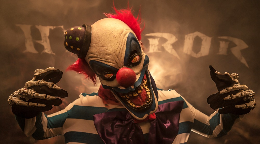 Creepy clown (Sergey Shubin/Shutterstock)