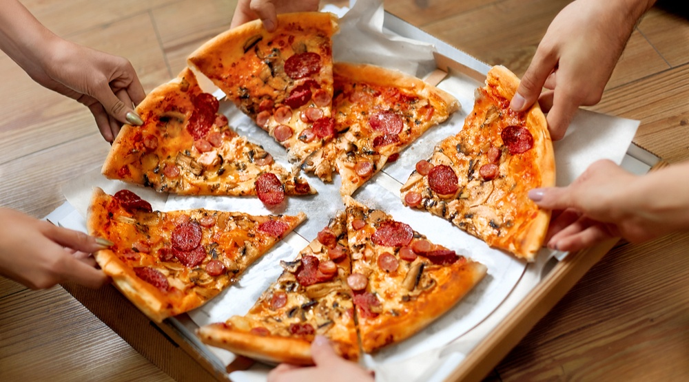 Pizza slices shutterstock
