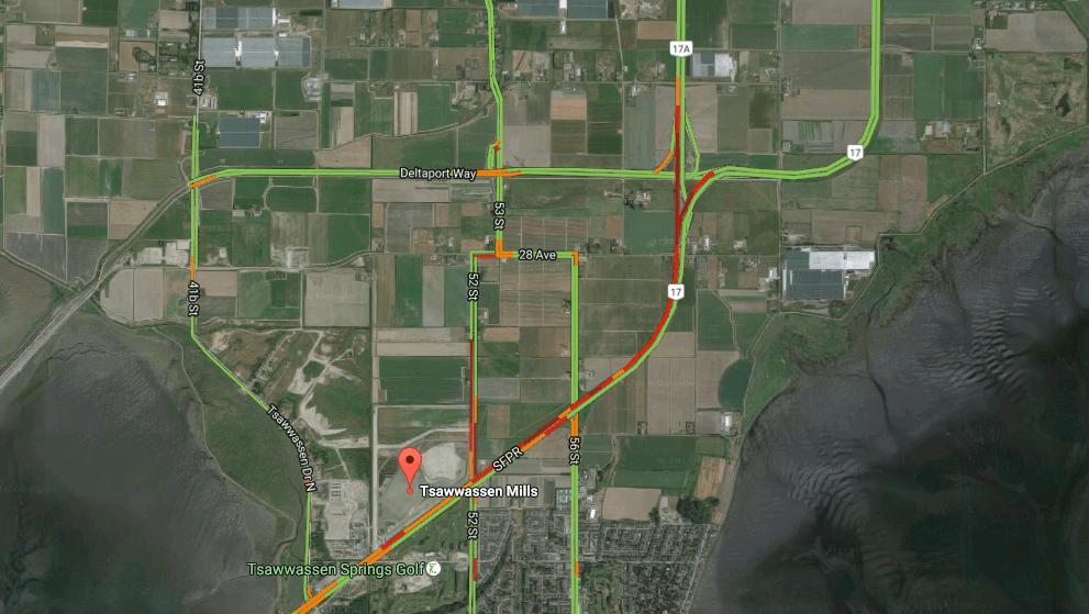 Image: Google Maps Traffic