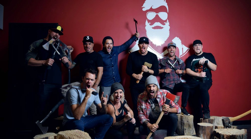 Need to release some rage? Check out this Montreal axe-throwing playground