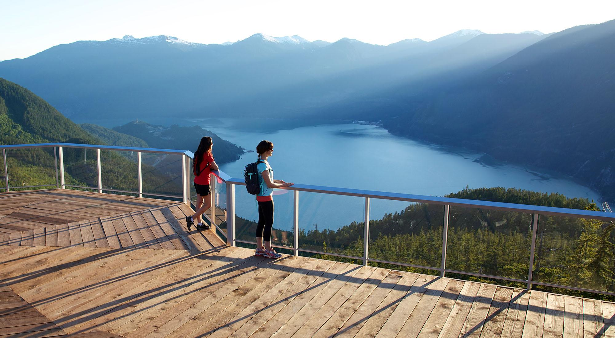 The view from the Sea To Sky Gondola summit (Paul Bride)
