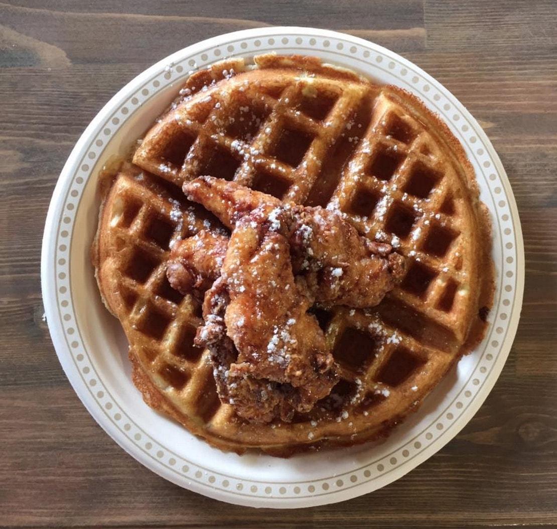 Waffles & Chix in the Crossroads Market
