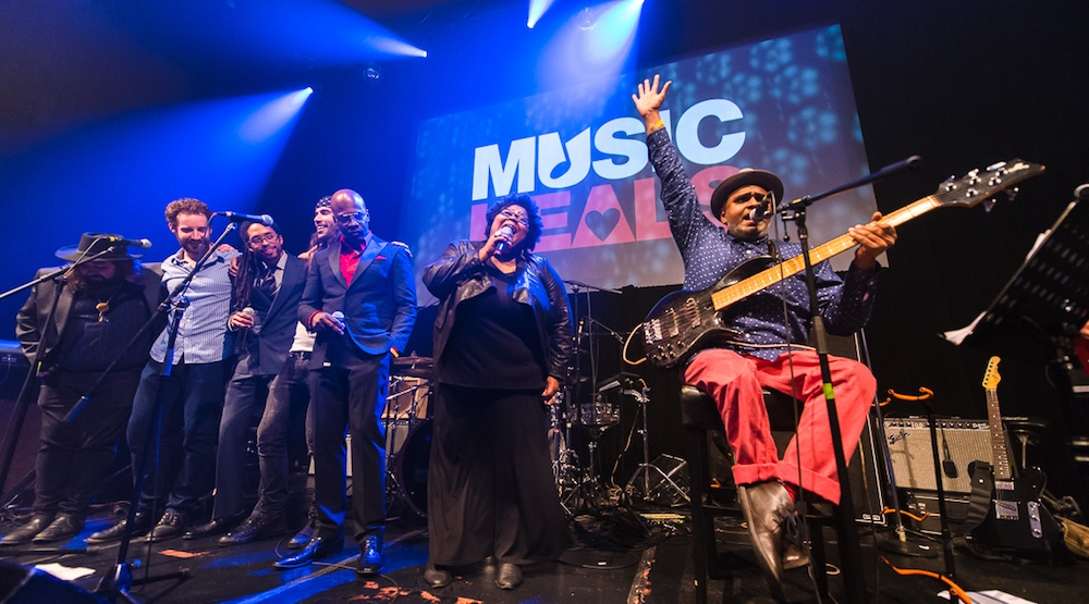 Strike A Chord: Benefit For Music Heals at the Imperial in Vancouver on October 20