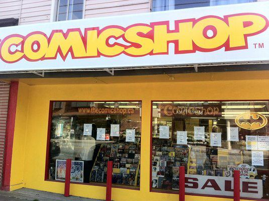 The Comicshop/Facebook