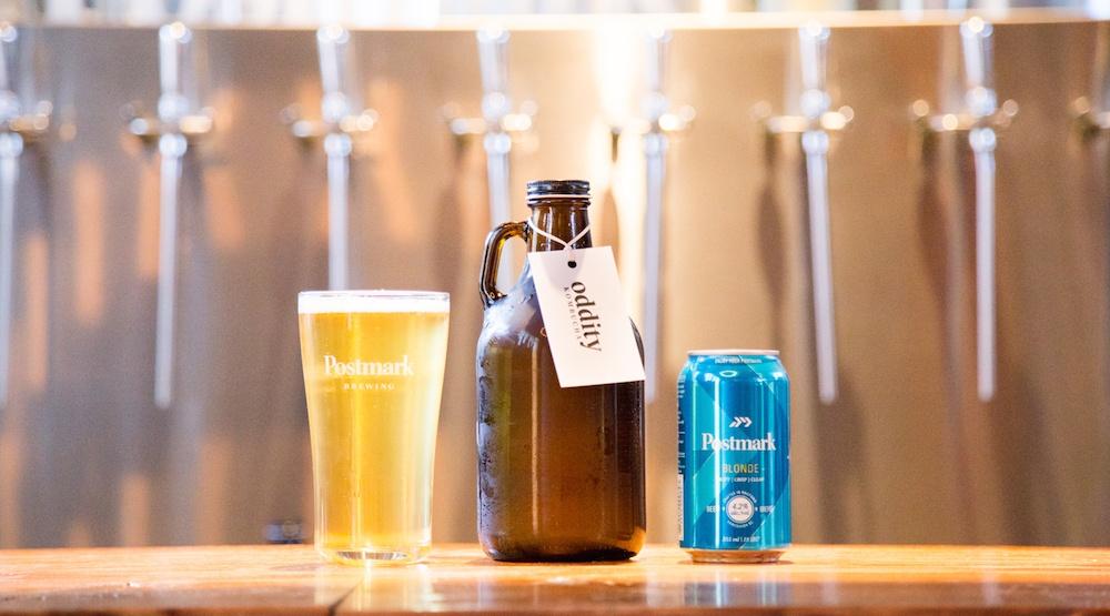 Beer + Kombucha = Postmark's (brilliant) Blondebucha