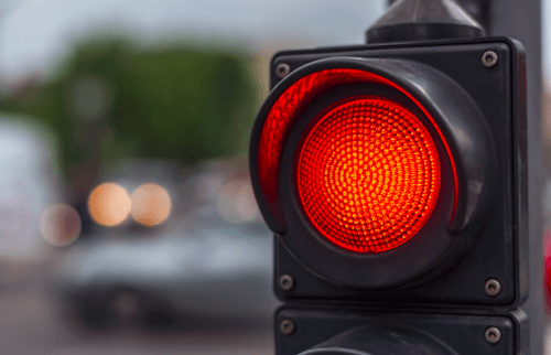 Traffic light/ Shutterstock