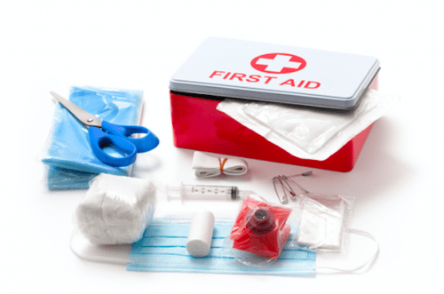 First Aid Kit/ Shutterstock