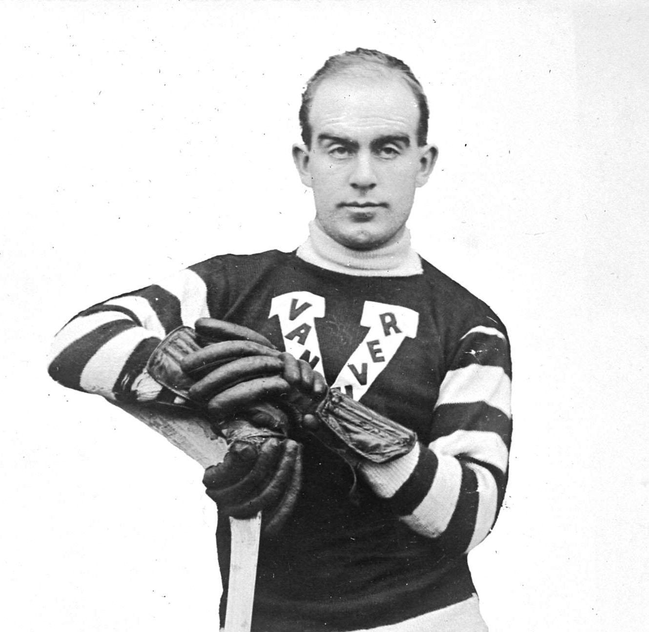 "Legendary hockey player Fred ""Cyclone"" Taylor (Cyclone Taylor Sports)"