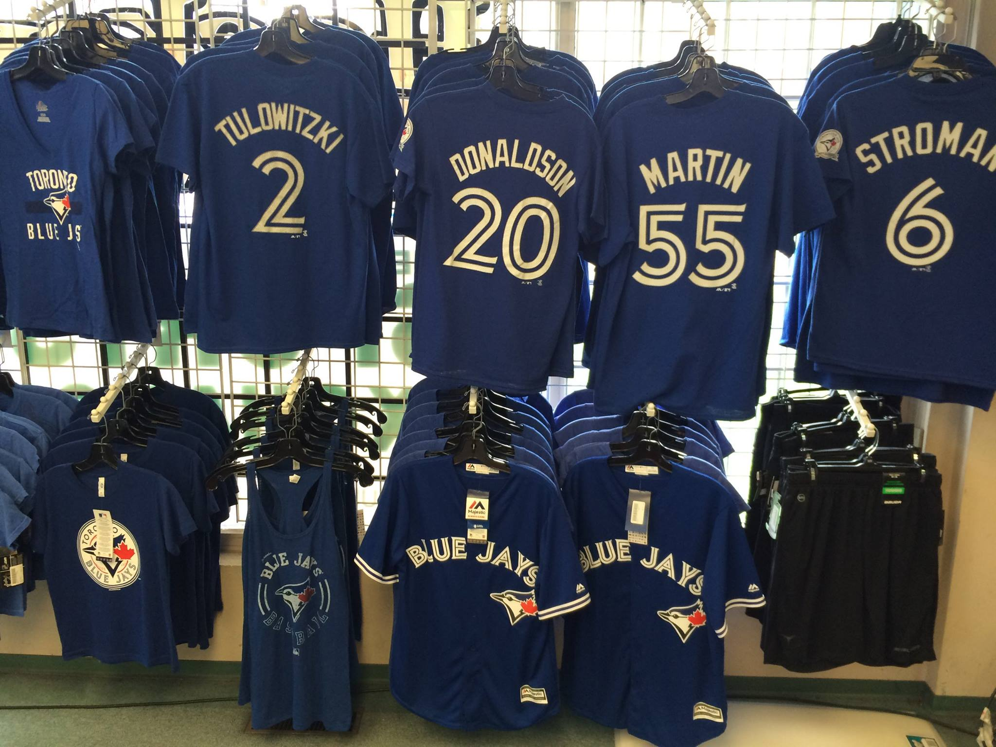 9efa825a053 Blue Jays gear at The Sports Exchange (The Sports Exchange Facebook)