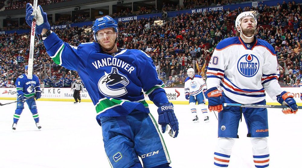 Canucks trade Jannik Hansen to San Jose Sharks