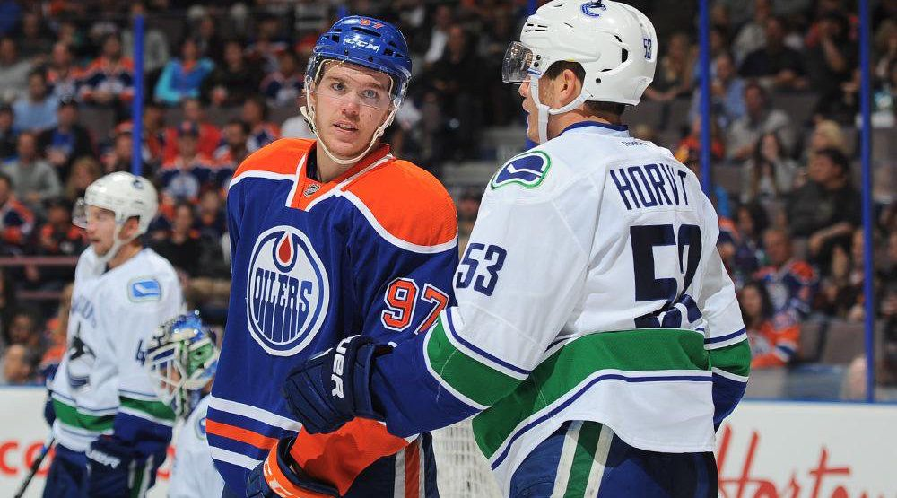 Canucks to finish off 2016 against McDavid, Oilers