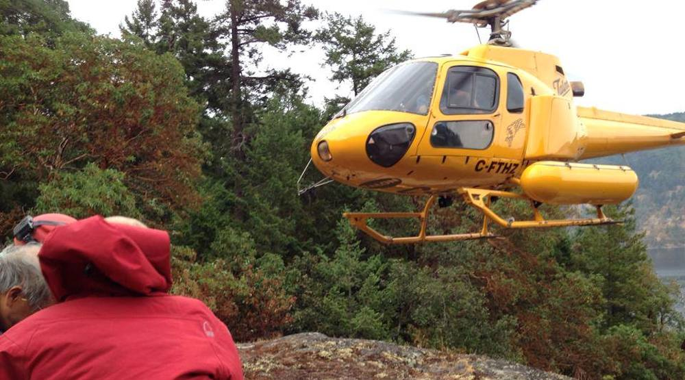 North shore rescue helicopter vancouver