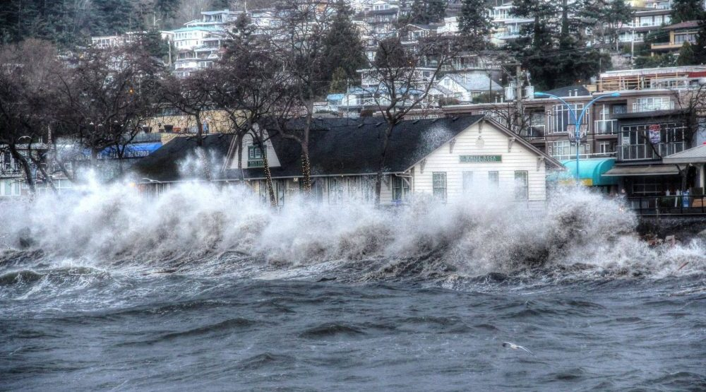 Storm surge and rising rivers could cause flooding in Metro Vancouver