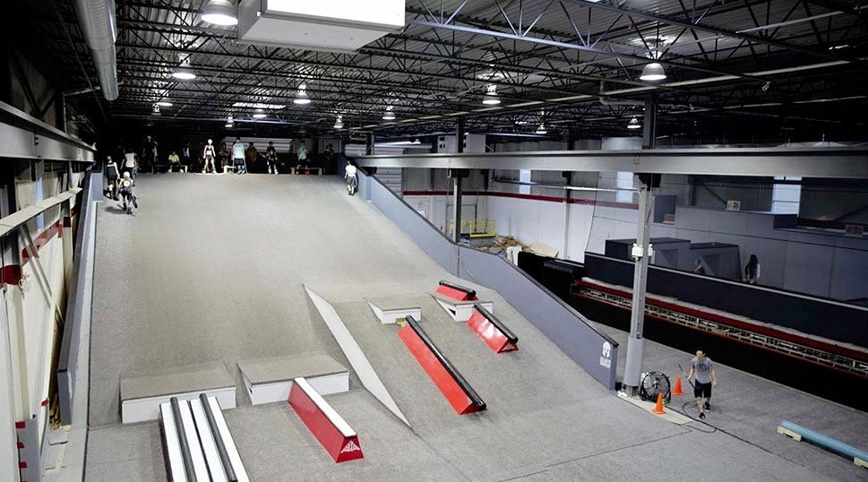 Canada's first indoor ski and snowboard progression park has opened near Toronto