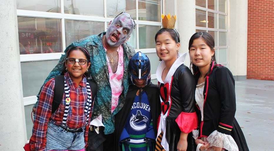 Halloween on the Heights goes trick or treating in Burnaby
