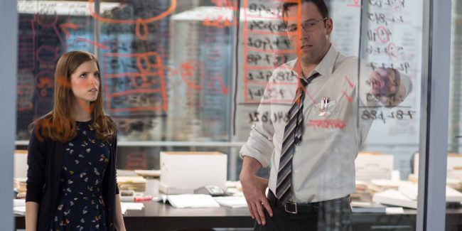 Anna Kendrick and Ben Affleck in The Accountant - Image: Warner Brothers