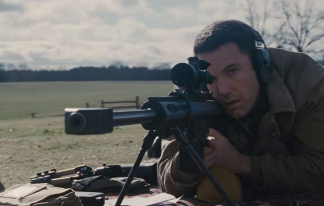 Ben Affleck as Christian Wolf in The Accountant - Image: Warner Brothers