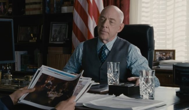 J.K. Simmons in The Accountant - Image: Warner Brothers