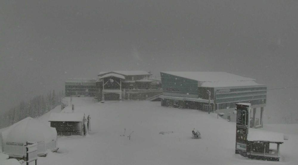 Whistler blackcomb snow weather