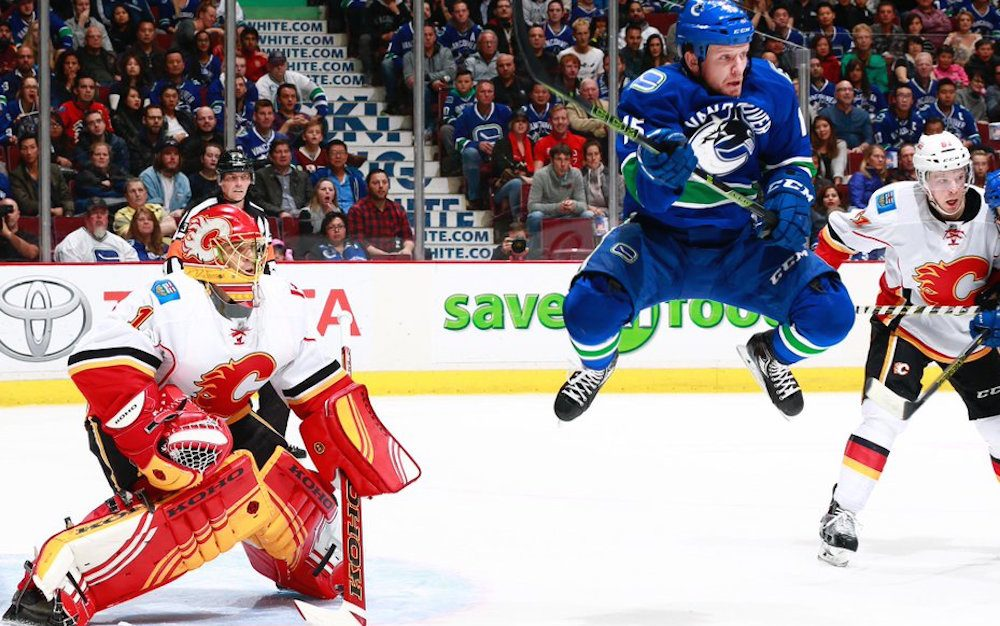 Let's go! Canucks open season against Flames at home