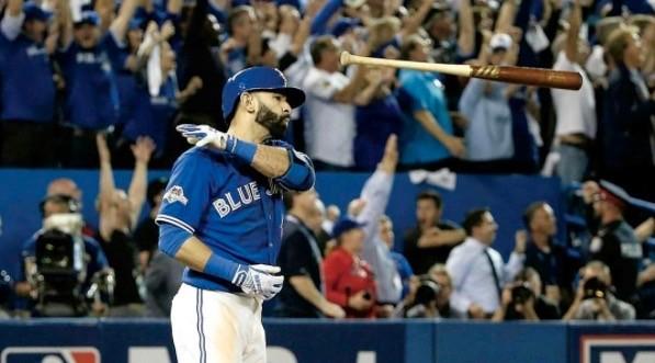 It's the one-year anniversary of Jose Bautista's bat flip heard 'round the world