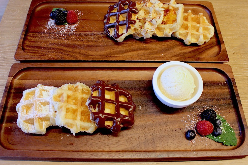 Mini Liege Waffles (Lindsay William-Ross/Daily Hive)