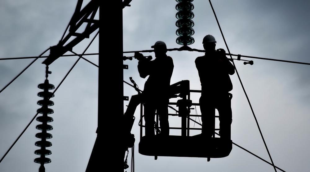 Power lines shutterstock