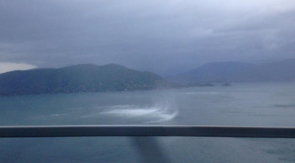 Waterspout spotted near Horseshoe Bay in West Vancouver