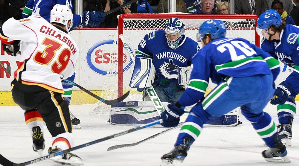 Playoff push is on: Canucks host Flames in search of 6th straight win