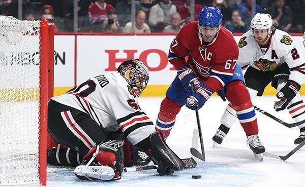 Canadiens blackhawks