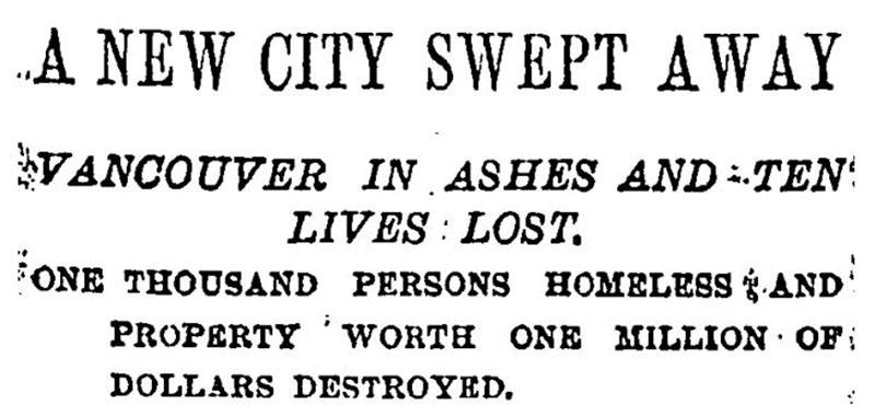 Headline in the New York Times, 15 June 1886.