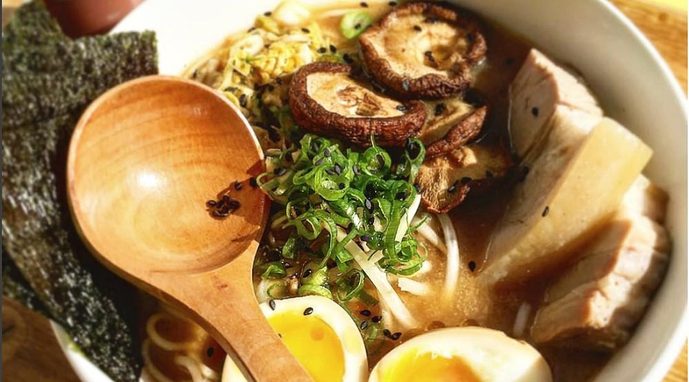 A vegan ramen restaurant has popped up in St. Henri