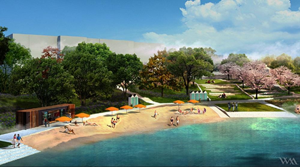 An urban beach is coming to Verdun next summer